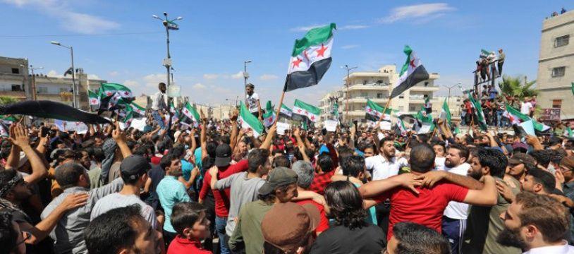 Idleb, à la frontière turque, est la dernière proche de résistance de l'opposition au régime de Damas.
