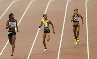 La Française Floria Guei (à droite) aura un gros rôle dans le  relais 4x400 mètres français
