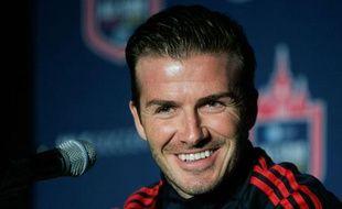 David Beckham joue actuellement aux Los Angeles Galaxy, aux Etats-Unis.