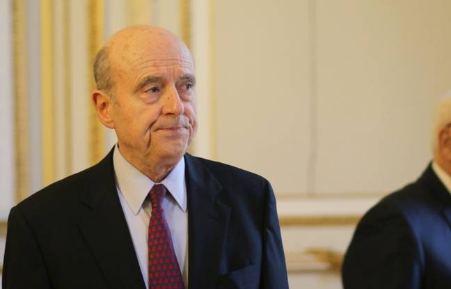 The mayor of Bordeaux Alain Juppé.