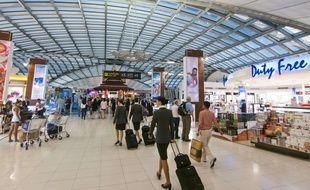 L'aéroport international de Bruxelles a été bloqué par une panne d'électricité totale (image d'illustration).