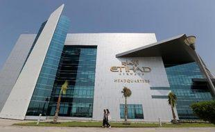 Le siège de Etihad Airways à Abu Dhabi