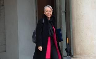 Elisabeth Borne, ministre de la Transition écologique et solidaire, à la sortie de l'Elysée, archives.