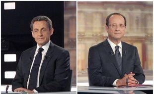 François Hollande continue d'être donné gagnant du second tour de la présidentielle, avec entre 52,5 et 53,5% des intentions de vote, mais l'écart se réduit entre le socialiste et le président-candidat UMP Nicolas Sarkozy, selon plusieurs sondages parus jeudi soir et vendredi matin.