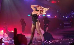 Britney Spears en concert à Las Vegas le 25 octobre 2015