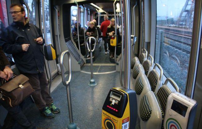 La plupart des voyageurs qui ont emprunté le tramway à Blanquefort se rendaient dans le centre de Bordeaux