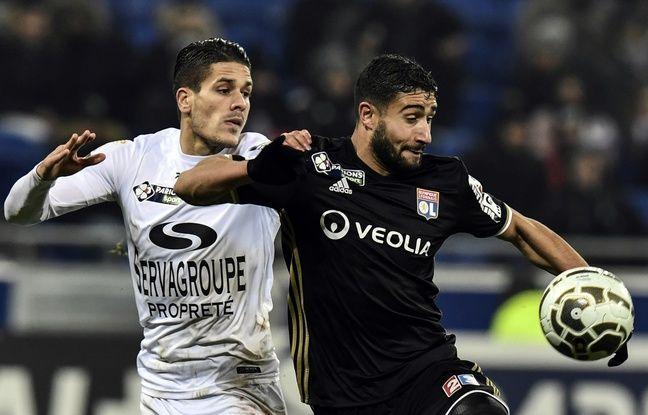 Nabil Fekir s'est montré bien plus en vue que ces dernières semaines, ce mercredi face à Guingamp.