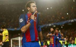 Neymar n'embrassera plus l'écusson du Barça