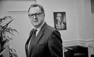Richard Ferrand, Député, président du groupe En marche ! à l'Assemblée nationale.