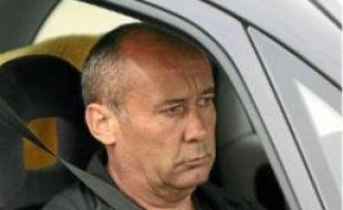 Loïc Sécher, lors de sa sortie de prison.