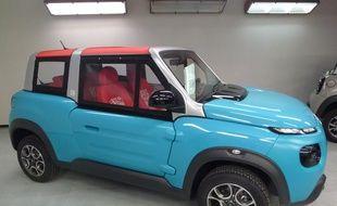 Ce cabriolet 100% électrique est fabriqué à l'usine PSA La Janais près de Rennes.