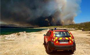 Plus de 350 hectares ont brûlé...