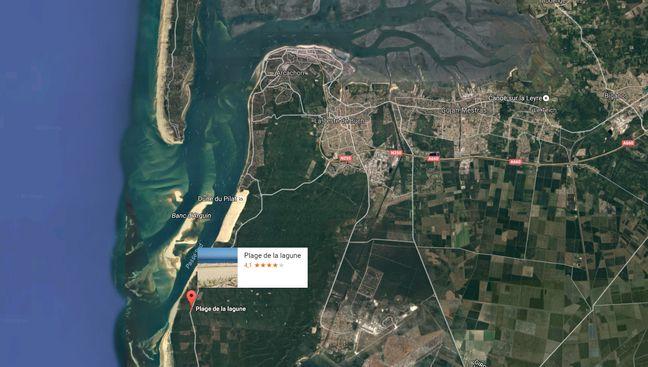 La plage de Lagune se situe à La Teste-de-Buch.