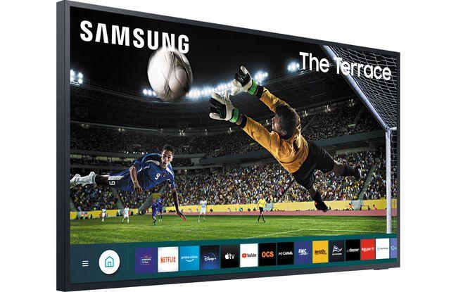 Avec The Terrace Samsung lanxe un téléviseur QLED conçu pour l'extérieur.