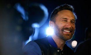 David Guetta, en 2017 à Las Vegas.