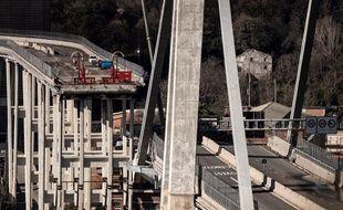 A Gênes, le pont s'est effondré en août 2018.