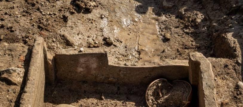 Vestiges découverts à Narbonne