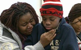 La mère a retrouvé son fils quatre ans après sa disparition.