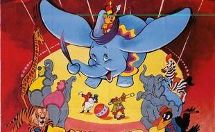 L'affiche de Dumbo en 1941