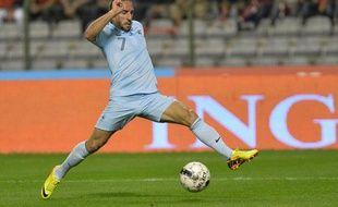Franck Ribéry en course pour le Ballon d'Or cette saison.