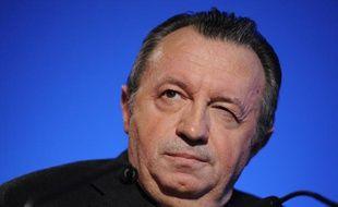 Jean-Noël Guérini, le 17 février 2011, lors d'un dîner républicain à Allauch (Bouches-du-Rhône).