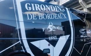 Le bus des Girondins de Bordeaux.