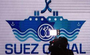 Illustration du canal de Suez.