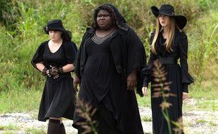 "Jamie Brewer, Gabourey Sidibe et Taissa Farmiga dans ""American Horror Story: Coven""."