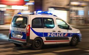 Une voiture de police en intervention (illustration).