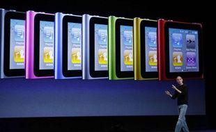 Présentation de la keynote d'Apple à San Francisco, le 1er septembre 2010