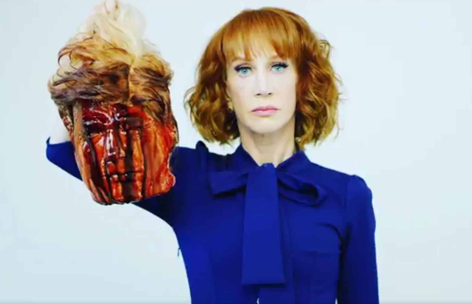 Kathy Griffin virée de CNN pour une image de Donald Trump..