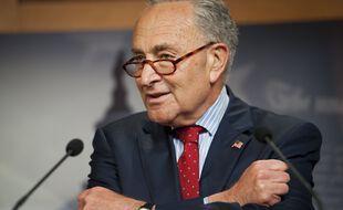 Le leader de la majorité démocrate au Sénat américain, Chuck Schumer.