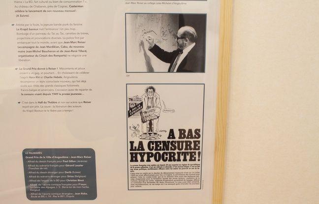 A ses débuts, le salon de BD a dû faire face à la censure banalisée de l'époque.
