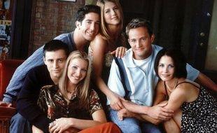 Les six stars de la série « Friends ».