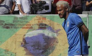 Neymar était au Brésil en fin de semaine.