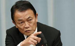 Le vice-Premier ministre chargé des Finances japonais, Taro Aso, le 28 décembre 2012, à Tokyo.