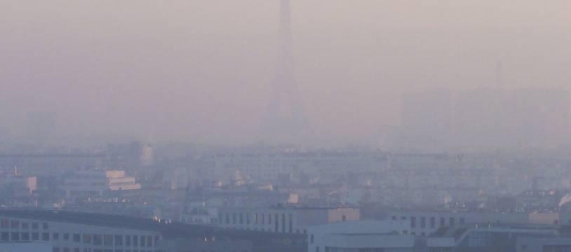Un pic de pollution à Paris