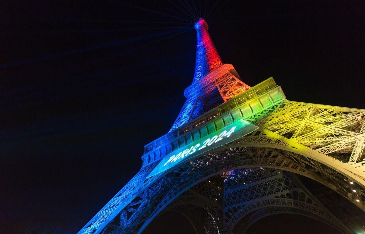 Des défenseurs de la langue française dénoncent le slogan en anglais pour soutenir la candidature de Paris 2024 (Illustration).  – Flickr.com