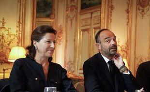 Agnès Buzyn et Edouard Philippe. (archives)