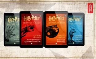 Quatre Nouveaux Livres Sur L Univers D Harry Potter