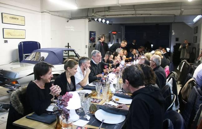 Une soixantaine de convives ont participé à la Nuit des Banquets de Bordeaux S.O. Good aux Ateliers Paul Bracq.