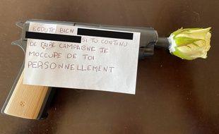 Deux candidats aux municipales à Allauch ont reçu une arme factice accompagnée de messages menaçants.