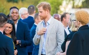 Le prince Harry au Cap en Afrique du Sud