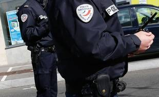 Illustration de policiers.