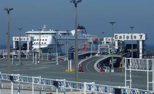 Illustration du port de Calais près duquel l'accident a eu lieu.