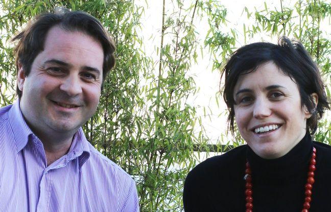 Alexandre Villatte, directeur général adjoint de l'EPA Euratlantique, et Marion Le Fur, responsable de la communication.
