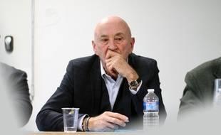 Le fondateur du groupe de propreté Samsic Christian Roulleau, ici en 2017 à Rennes.