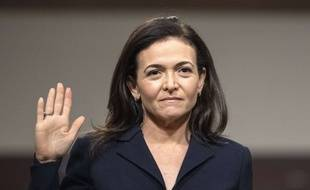 La numéro 2 de Facebook, Sheryl Sandberg, devant le Congrès américain, le 5 septembre 2018.