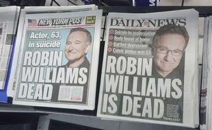 Couvertures du Daily News et du New York Post