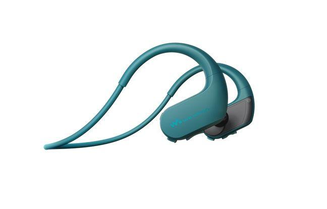 Le walkman NW-WS620 de Sony ose se mouiller et peut plonger jusqu'à 2 mètres.